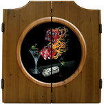 Michael Godard Art & Prints Michael Godard Art & Prints Dart Cabinet - Shooting The Wad