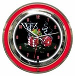 Michael Godard Art & Prints Michael Godard Art & Prints Neon Clock -  Sitting on 7s