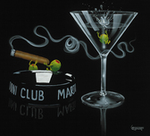 Godard Martini Art Godard Martini Art Smoke Off At The Club (AP)
