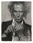 Sebastian Kruger Art Sebastian Kruger Art Soul Survivor (Keith Richards)