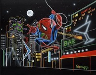 Michael Godard Art & Prints Michael Godard Art & Prints Spider-Tini (17.5 x 22)