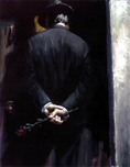 Fabian Perez Fabian Perez Study for Nocturnal Surprise II