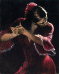 Fabian Perez Fabian Perez Study for Tablao Flamenco V