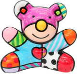 Romero Britto Art Romero Britto Art Summer Bear (Sculpture)