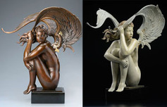 Michael Parkes Art Michael Parkes Art Summer Storm (One Third Life)