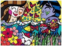 Romero Britto Art Romero Britto Art Summer (Gallery Wrapped)