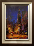 Michael Flohr Art Michael Flohr Art Summer Rain - Original (Framed)