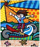 Romero Britto Art Romero Britto Art Surfer Boy