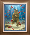 Robert Bissell Art Robert Bissell Art The Swimmer (Paper)