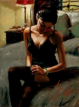 Fabian Perez Fabian Perez Tess on Bed II