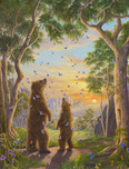Robert Bissell Art Robert Bissell Art The Golden Hour - (AP) Hand Enhanced