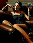 Fabian Perez Fabian Perez The Living Room III
