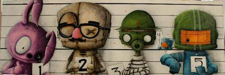 Fabio Napoleoni Fabio Napoleoni The Usual Suspects (PP) Canvas