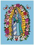 Romero Britto Art Romero Britto Art The Virgin Mary