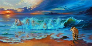 Jim Warren Fine Art Jim Warren Fine Art The Ocean's Roar