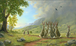 Robert Bissell Art Robert Bissell Art The Decision