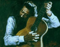 Fabian Perez Fabian Perez The Guitar Player