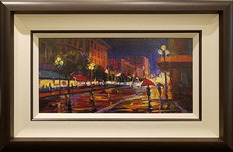 Michael Flohr Art Michael Flohr Art The Streets are Red - Original (Framed)