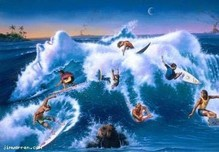Jim Warren Fine Art Jim Warren Fine Art The Wild Surf