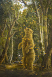 Robert Bissell Art Robert Bissell Art The Golden Bear (Deluxe Edition)(Framed)