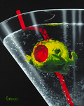 Godard Martini Art Godard Martini Art Think Inside the Glass