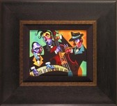 Tim Rogerson Tim Rogerson Three Black Ties (Framed)