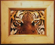 Jacquie Vaux Jacquie Vaux Eyes of the Tiger - Framed