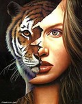 Jim Warren Fine Art Jim Warren Fine Art Tiger Within