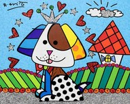 Romero Britto Art Romero Britto Art To Jenna and Nick's Home