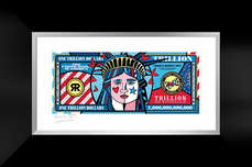 Romero Britto Art Romero Britto Art A Trillion Dollars