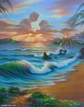 Jim Warren Fine Art Jim Warren Fine Art Tropical Romance