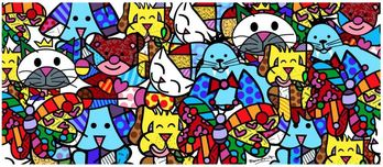 Romero Britto Art Romero Britto Art True Best Friends