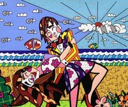 Romero Britto Art Romero Britto Art True Love (SN)