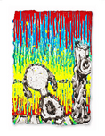 Tom Everhart prints Tom Everhart prints Twisted Coconut (Framed)