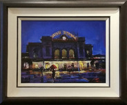 Michael Flohr Art Michael Flohr Art Union Station Tonight (Framed)