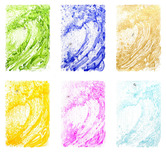 Tom Everhart prints Tom Everhart prints Venice Moon Dogg E' (JE/PP#1) (6 Piece Set)