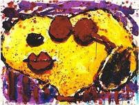 Tom Everhart Prints Tom Everhart Prints Very Cool Dog Lips In Brentwood
