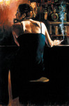 Fabian Perez Fabian Perez Waiting For A Drink