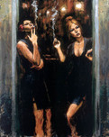Fabian Perez Fabian Perez Waiting For Customers