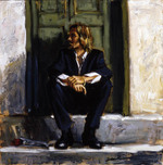 Fabian Perez Fabian Perez Waiting For the Romance to Come Back I