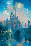 James Coleman Prints James Coleman Prints Walt Disney World Castle (Petite)