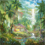 Artist James Coleman Artist James Coleman Warm Aloha (30 x 30)