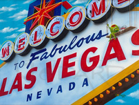 Michael Godard Fine Art Michael Godard Fine Art Welcome to Vegas (17.5 x 23.5)