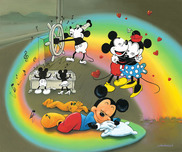 Jim Warren Fine Art Jim Warren Fine Art What does Mickey Dream?