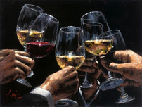 Fabian Perez Fabian Perez White and Red