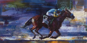 Michael Flohr Art Michael Flohr Art Win at Belmont