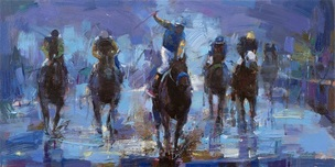 Michael Flohr Art Michael Flohr Art Win at the Preakness