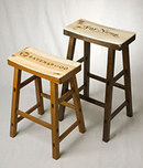 Brad Evans Brad Evans Wine Crate Saddle Stool - Don Melchor