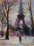 Michael Flohr Art Michael Flohr Art Winter in Paris