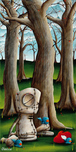 Fabio Napoleoni Fabio Napoleoni With Time and a Lot of Love (AP) - Framed